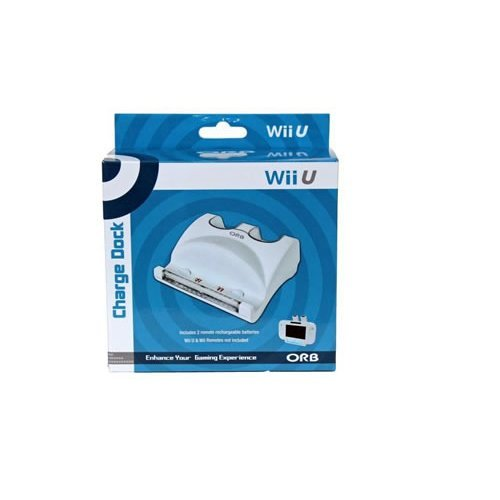 ORB Triple Charging Dock White Nintendo Wii U