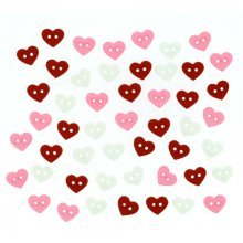micro hearts, Valentines, Dress It Up Buttons, Scrapbooking, craft