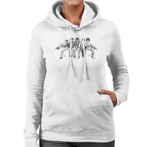 Jackson 5 At Hyde Park Corner 1977 Women's Hooded Sweatshirt