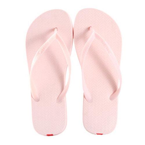 Unisex Casual Flip-flops Beach Slippers Anti-Slip House Slipper Light Pink