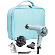 Remington 2000W Retro Women's Hair Dryer Gift Set Kit - D4110OB, Bombshell Blue