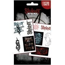 Slipknot Band and Logos Tattoo Pack