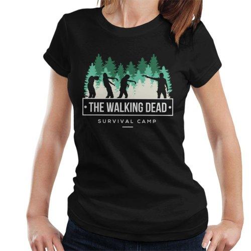 Survival Camp The Walking Dead Women's T-Shirt