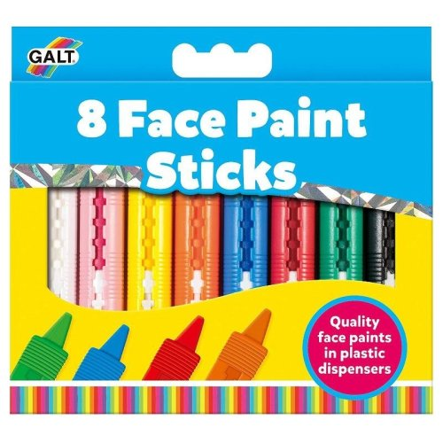 8 Face Paint Sticks