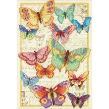 * Dimensions Counted X Stitch - Butterfly Beauty
