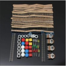 Electronic Parts Component Resistors Switch Button Kit - Train kit - Hobby set