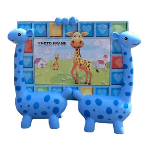 Lovely Giraffe Baby&Kids Picture Frame Photo Frames Plastic Frames,Blue