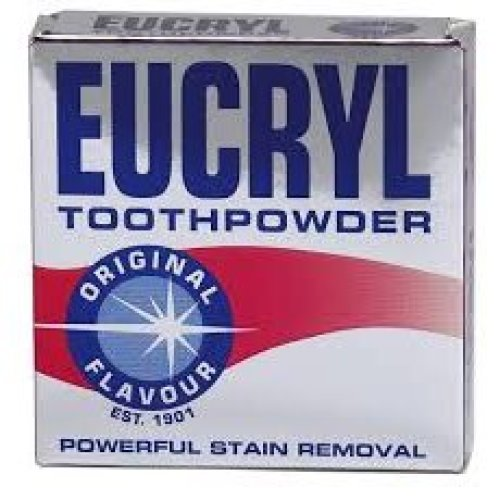 1 x Eucryl Toothpowder Original Stain Removing 50g Powder
