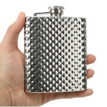 Creative Portable Hiking/Camping Russia Stainless Steel Hip Flask, 8oz