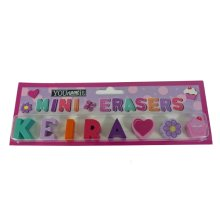Childrens Mini Erasers - Keira