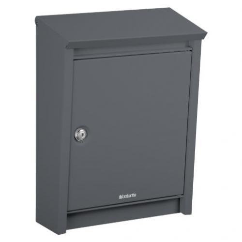 Brabantia B110 Post Box - Anthracite Grey