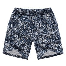 Printing Men's Beach Pants Shorts Summer Leisure Pants