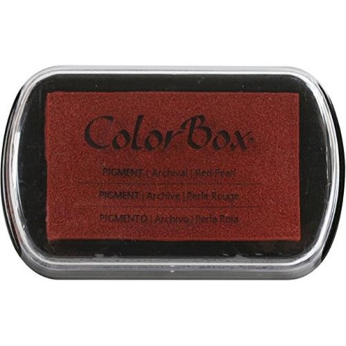 ColorBox CS19096 Full Size Ink Pad, Red Pearl