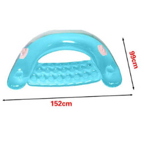 Floating Floor The Water Inflatable Bed Cushion Couch Sofa Floati Blue