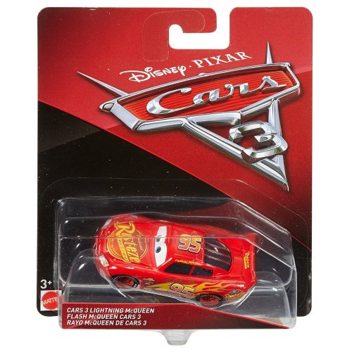 Disney Cars 3 Die-Cast Lightning Mcqueen Vehicle
