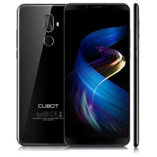 Cubot X18 Plus (2018) Android 8.0 4G Smartphone Unlocked , 5.99 Inch (18: 9) IPS FHD+ Mobile Phone, with 4000 mAh Battery , 4GB RAM+64GB ROM,...