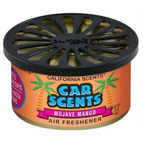 CALIFORNIA SCENTS AIR FRESHENER HOME OFFICE CAR VAN BUSINESS TAXI BUS CAB TRUCK[MOJAVE MANGO]