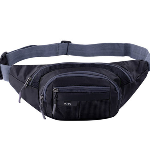 Outdoor Sports Multi-functional Waist Packs for Running Hiking Cycling Camping, Black 35x15cm