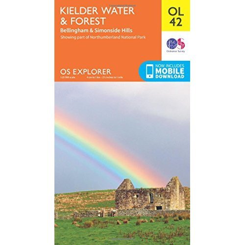 OS Explorer OL42 Kielder Water & Forest (OS Explorer Map)
