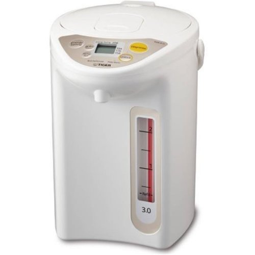 Tiger PIFA30UWU 3 litre Micom Electric Water Boiler & Warmer, White