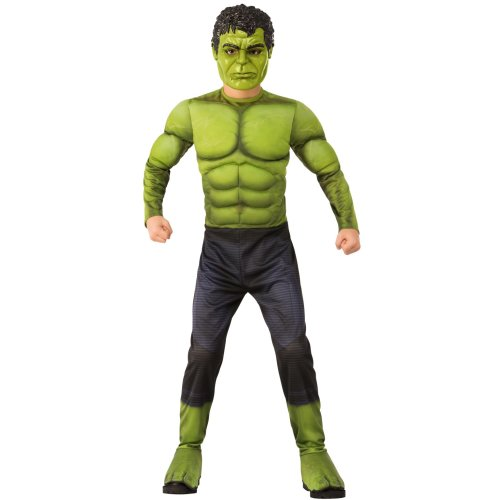 Kids Official Deluxe Infinity War Hulk Costume