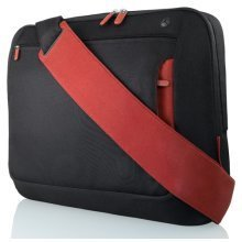 Belkin Messenger Bag for Notebooks up to 15.6 inch in Jet and Cabernet