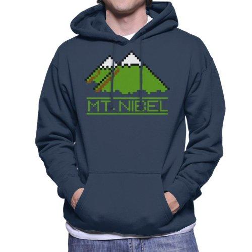 Pixel Mt Nibel Final Fantasy Men's Hooded Sweatshirt
