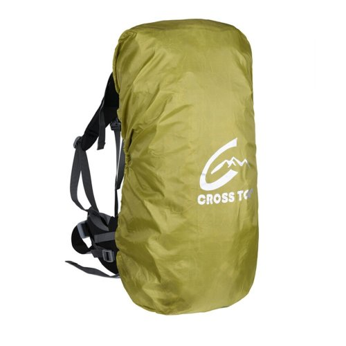 [GREEN] Camping/Hiking Water-proof Backpack Rain/Snow Cover, Size M,30-50L