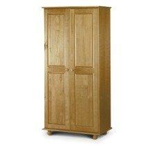 Crenby Pine 2 Door Wardrobe