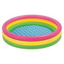 Intex Kiddie Pool - Kid\'s Summer Sunset Glow Design - 58 x 13