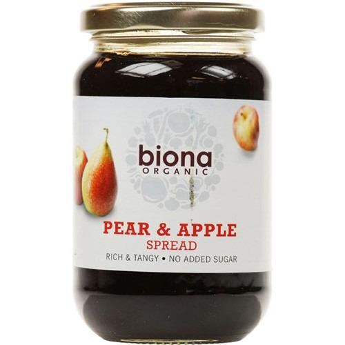 Biona Pear & Apple Spread Organic- No Added Sugar 450g