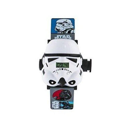 Disney Childrens Kids Star Wars Stormtrooper Projector Wrist Watch STM3429