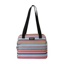 Packit 8963282 Packit Hampton Freezable Multi-Striped Lunch Bag Cooler, Assorted