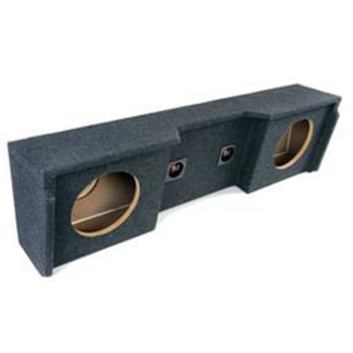 Atrend Enclosures A15212CP 12 Dual Downfiring Super Deep Carpeted Enclosure - 1999-Up GM Extended Cab