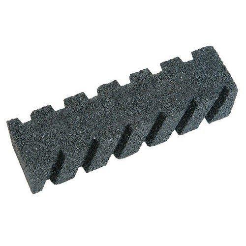 Faithfull FAIRBRICKF8 Rubbing Brick Fluted 200 x 50 x 50mm
