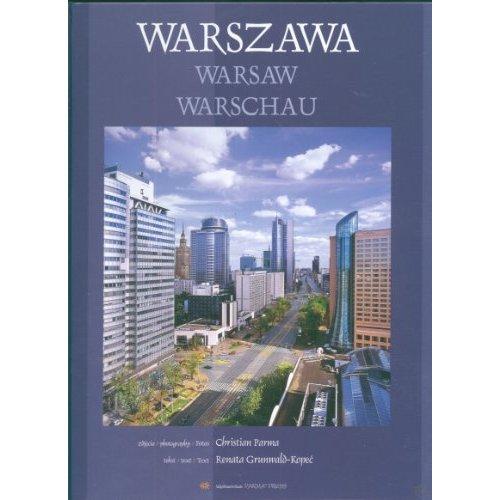 Warszawa Warsaw Warschau wersja polsko angielsko niemiecka