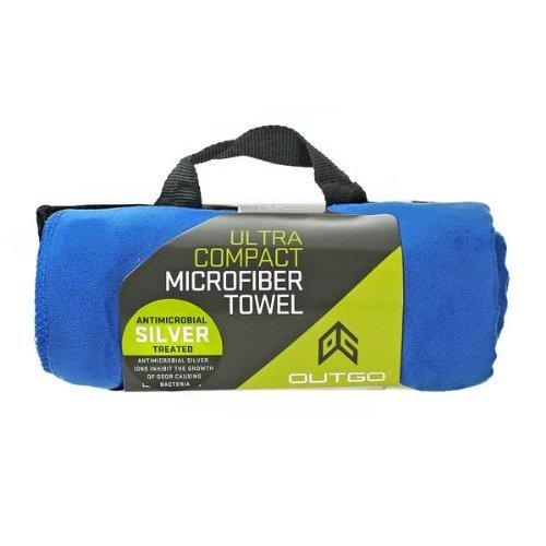 Outgo Ultra-Compact Microfiber Towel, Cobalt Blue, Extra Large