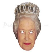 The Queen Card Face Mask