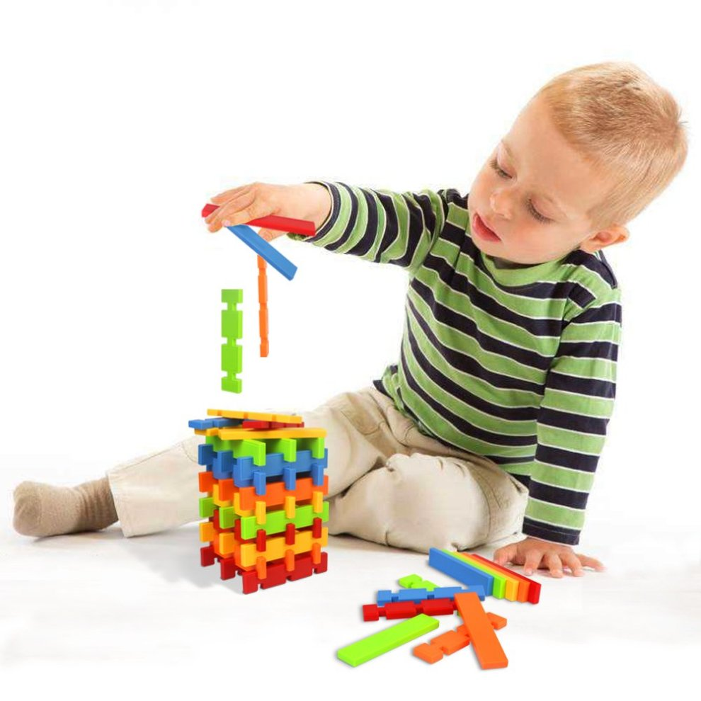 ... Nuheby Building Toys Building Blocks 50pcs Kids Construction Toys for Girls Boys Stacking Blocks Educational Toys ...