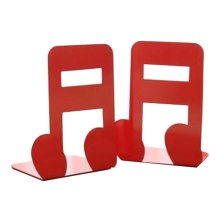 Cartoon Iron Bookcase Creative Thicker Baffle-Note Red