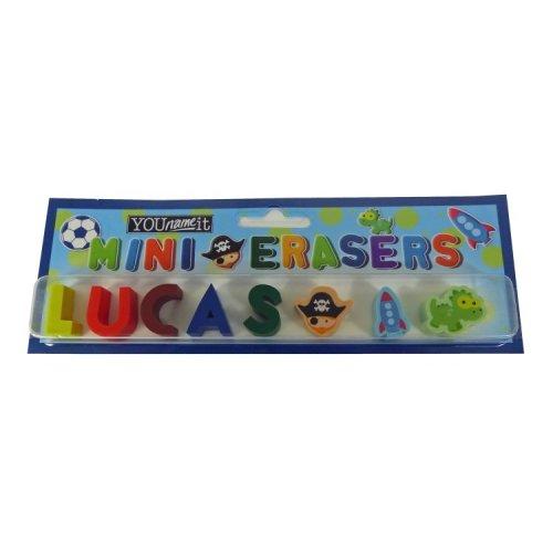 Childrens Mini Erasers - Lucas