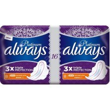 Always Platinum Plus Ultra Normal Plus 4 Packs of 16 Pads