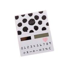 Creative Mini Solar Card Calculator Child Count Toy/Office Supplies,B7