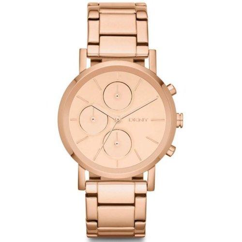 DKNY Rose Gold-Tone Chronograph Ladies Watch NY8862