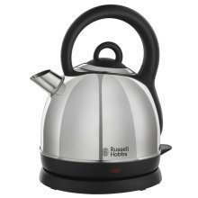Russell Hobbs Dome Kettle Rapid Boil 1.8L Capacity - Silver (Model No. 19191)