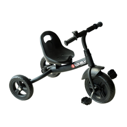 Homcom Kids' Ride-On Tricycle - Black | Children's Tricycle