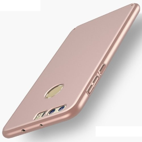 Bllosem Huawei Honor 8 Case High Quality Ultra Slim Exquisite Real Skin Feeling Full Body Protection Case for Huawei Honor 8 Rose Gold
