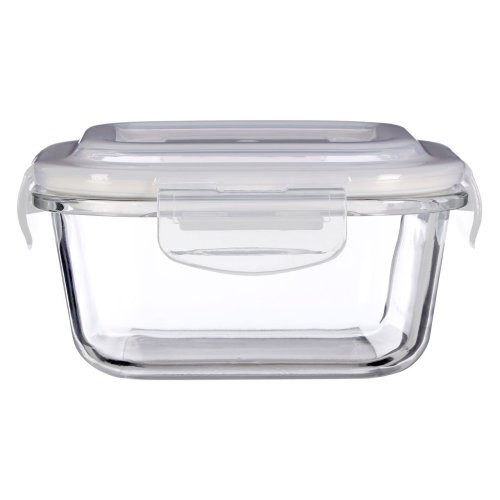 Freska 520 ml Glass Container, Clear