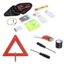 Homcom 13pc Auto Emergency Kit | Car Breakdown Set