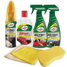 Turtle Wax Quick & Easy Car Cleaning Kit Car Wash & Shampoo